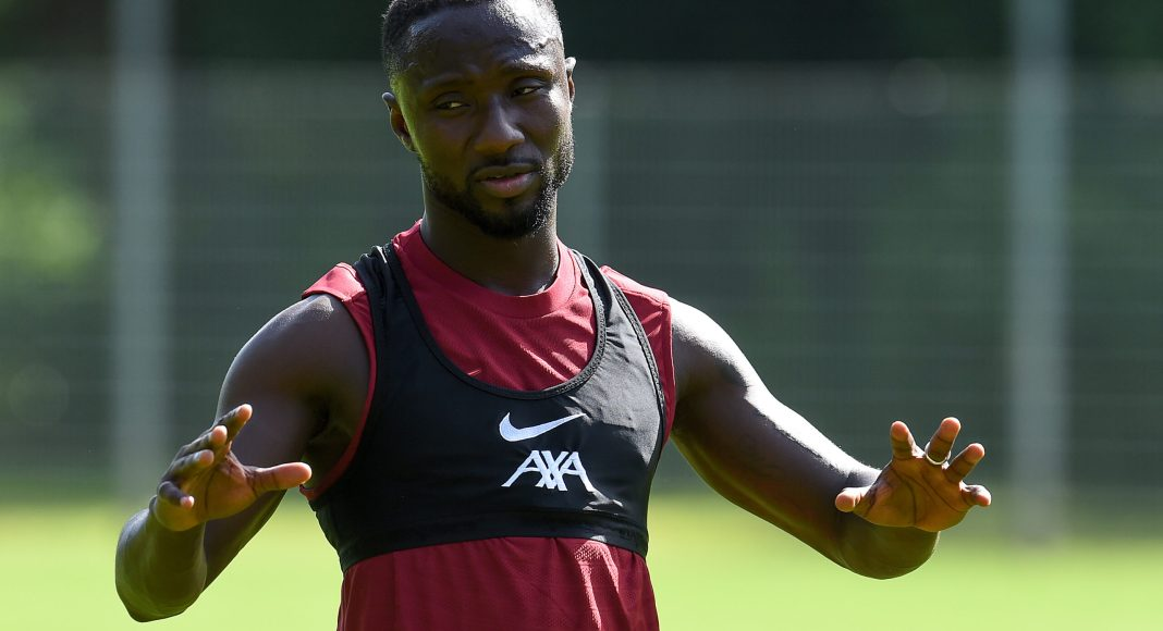 UNSPECIFIED, AUSTRIA - JULY 12: Naby Keita of Liverpool during a training session on July 12, 2021 in UNSPECIFIED, Austria.