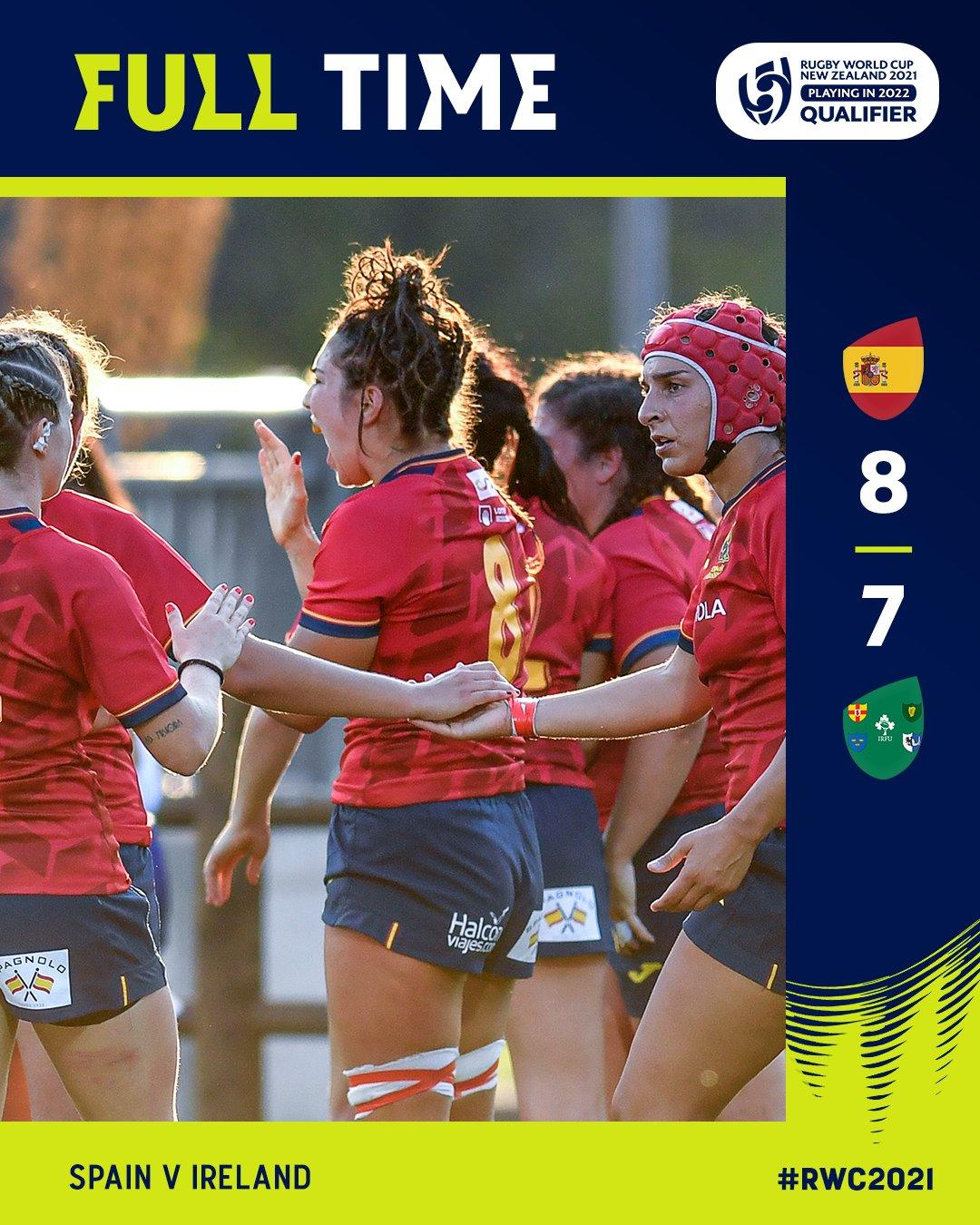 Spain 8-7 Ireland September 2021
