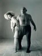 Maurice Tillet junto a Dorian Leigh