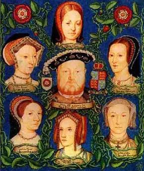 Henry VIII y sus esposas