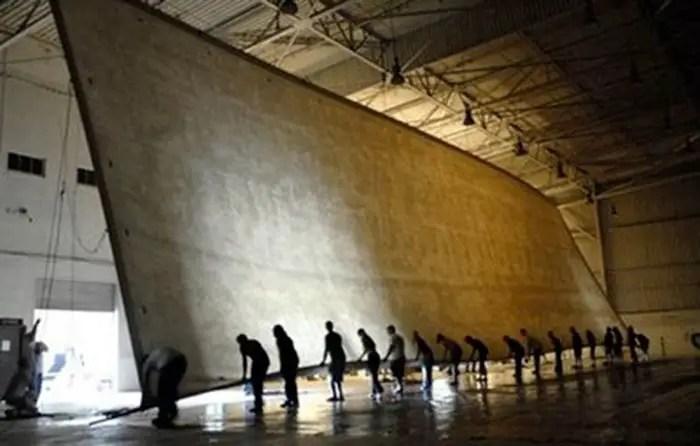 Imagen de la fotografía más grande del mundo.