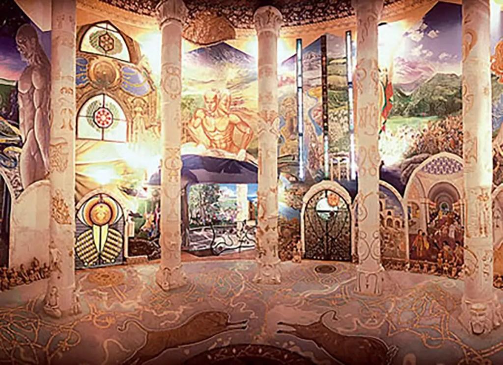 Templo Hypogeum.