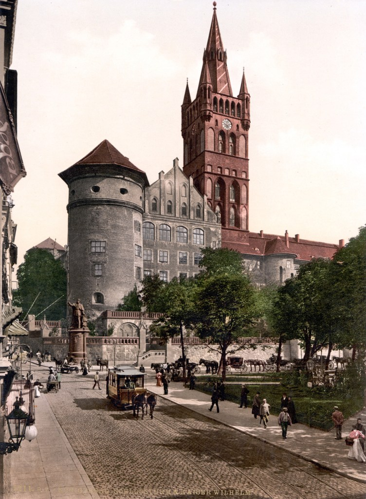 Fotografía del exterior del Castillo de Königsberg.