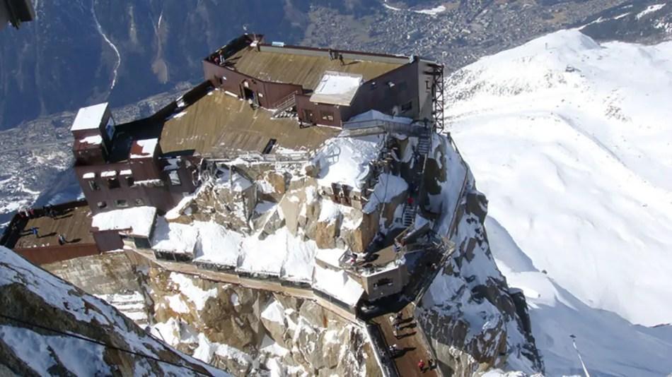 Vista del Aiguille du Mid.