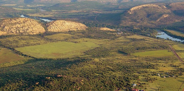 Vredefort, África del sur, Sudáfrica.