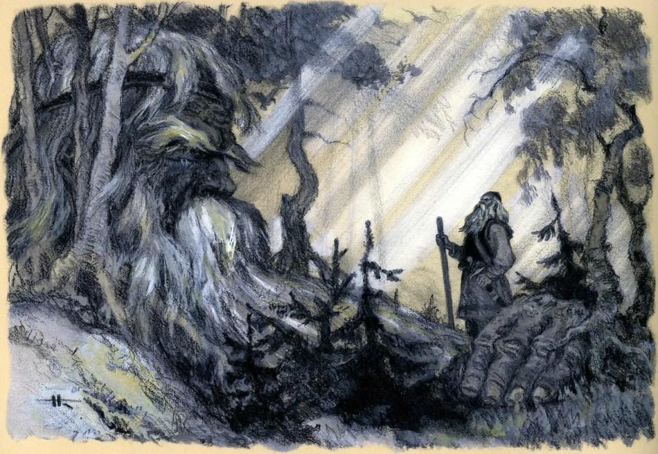 Ilustración del Kalevala