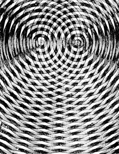 Fotografía de ondas sonoras.