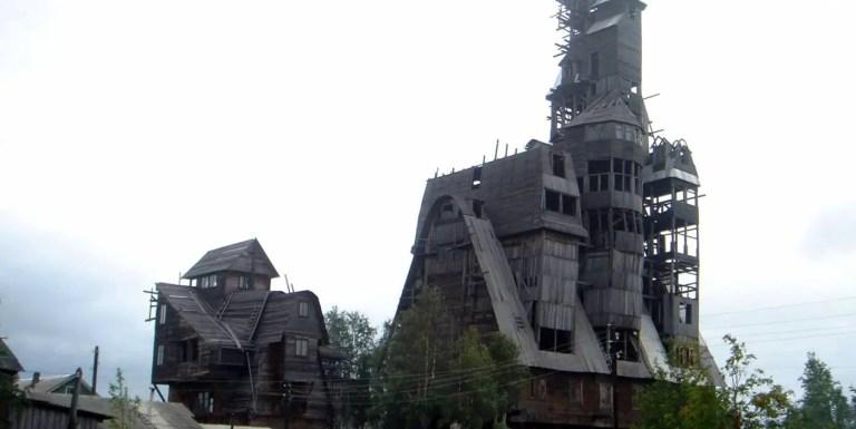 El gigantesco rascacielos de madera de Arkhangelsk