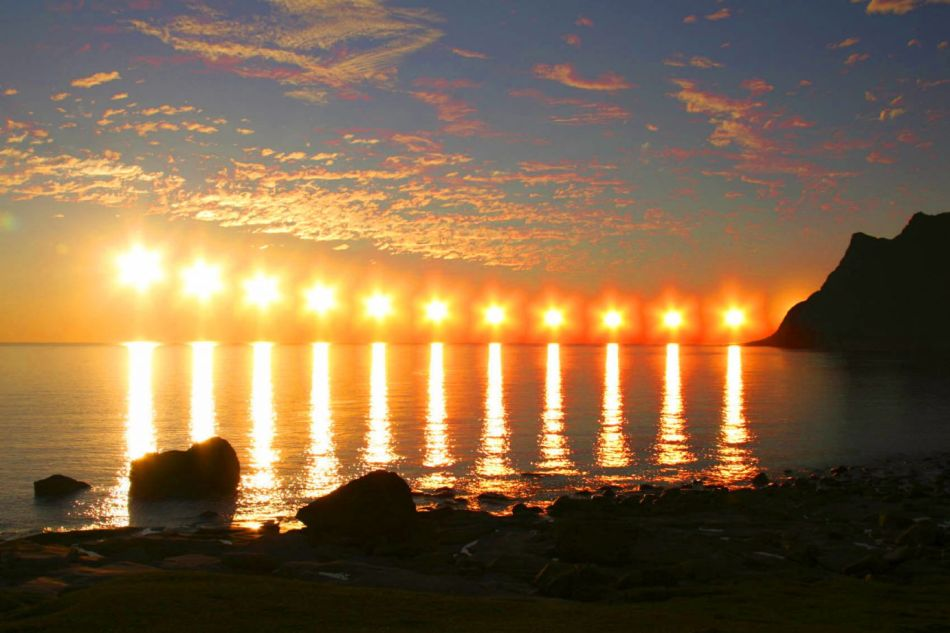 Fotografía de un solsticio