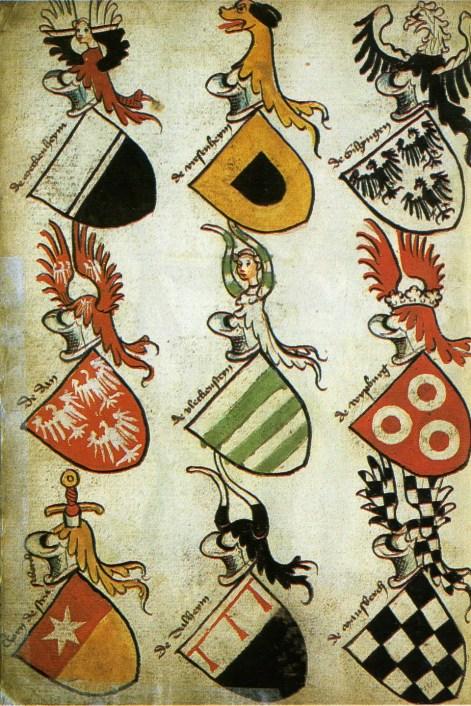 Imagen de carios símbolos heáldiso