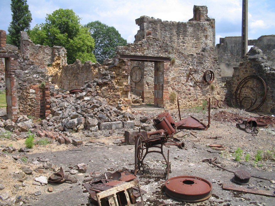 Fotografái de Ruinas de Oradour-sur-Glane.