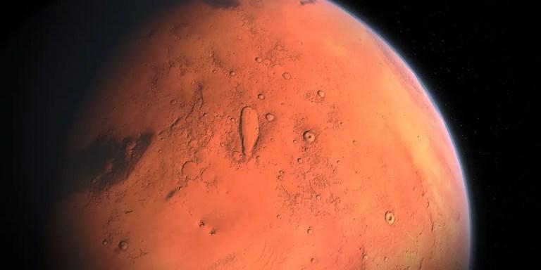 Imagen de Marte.