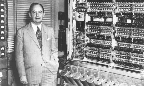 Fotografía del científico John von Neumann.