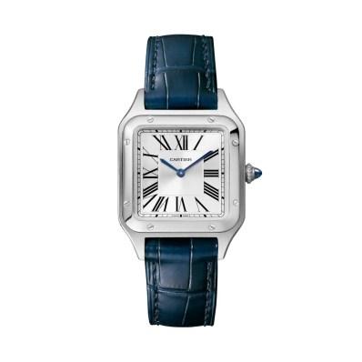 Fotografía de un reloj pulsera Cartier Dumont.
