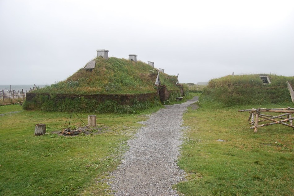 Fotografía de las ruinas de L'Anse aux Meadows.