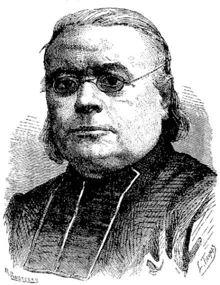 Ilustración antigua del abate Moigno.