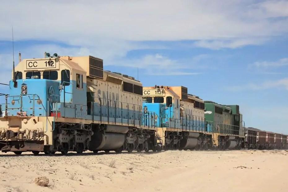 Fotografía del tren de Tren de Zourate .