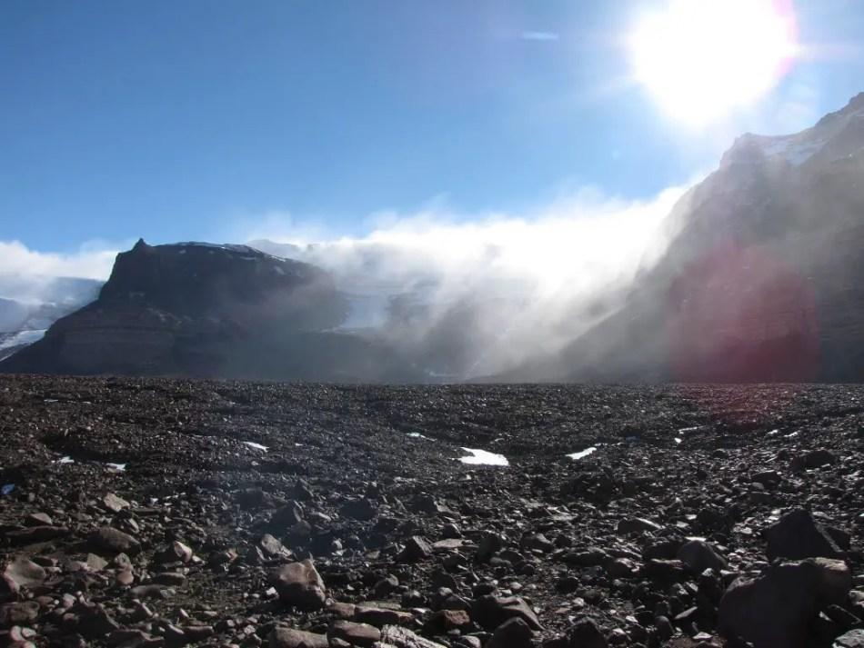 En la Antártida hay un territorio en el cual no llueve desde hace 2 millones de años. Los Valles secos, el lugar con la sequía más larga de la historia.