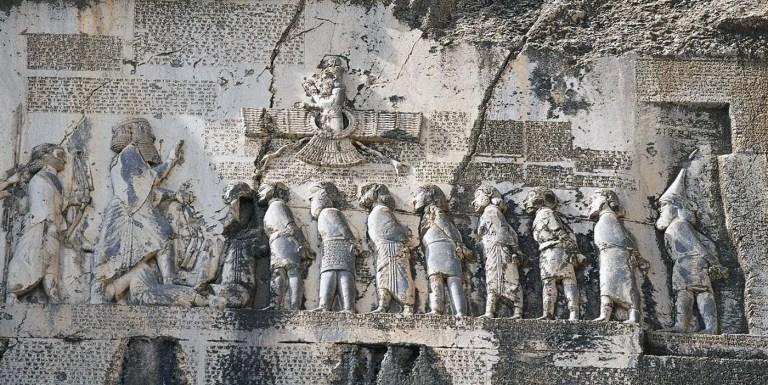 La primera propaganda política de la historia, el relieve de Behistun