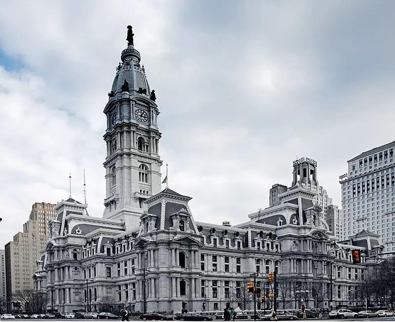 Fotografía del City Hall de Filadelfia.