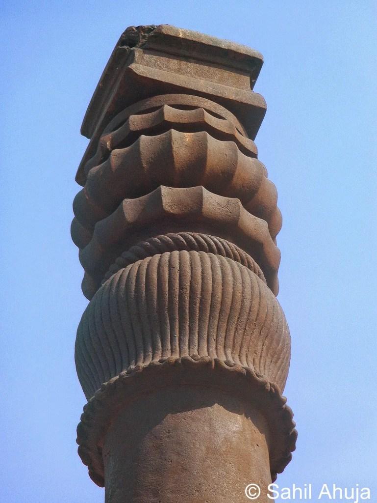 El Pilar del Templo de Delhi.