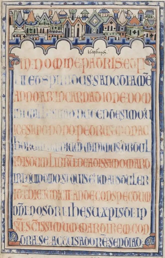 Maldición en un libro medieval una de las técnicas antirrobo medievales.