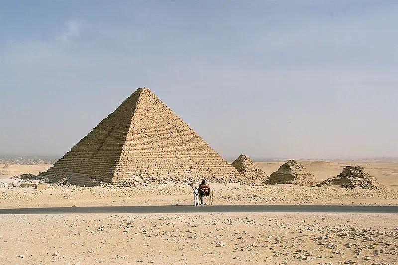 Piramide de Micerino.