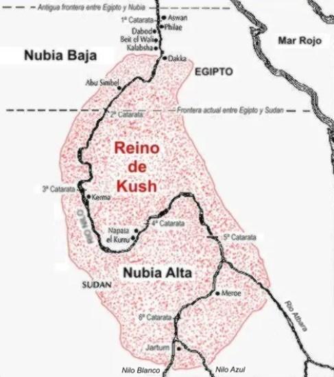 Fotografía del Reino de Kush.