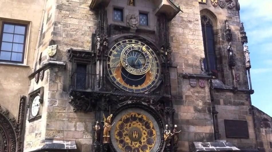 Reloj de Praga.