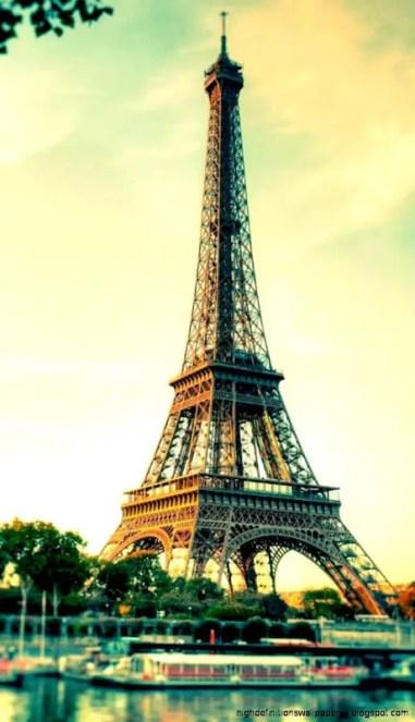 Fotografía de la Torre Eiffel.