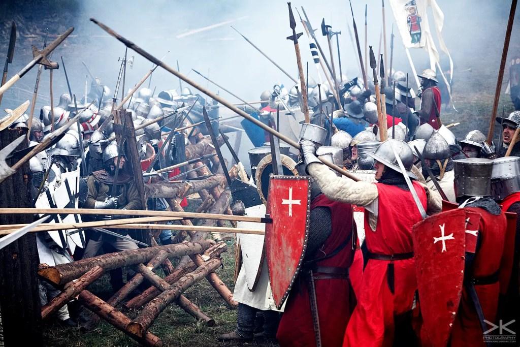 Fotografía de la Batalla de Libušín.