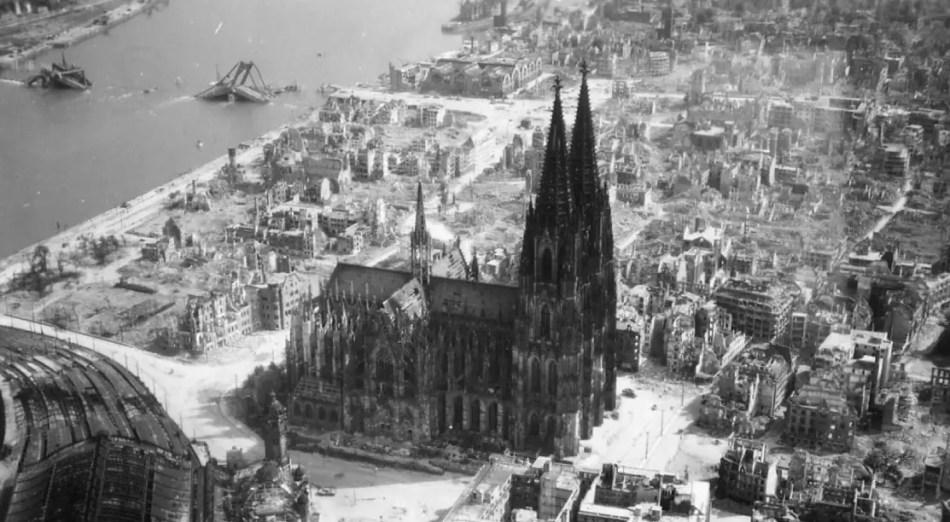 Fotografía de la Catedral de Colonia.