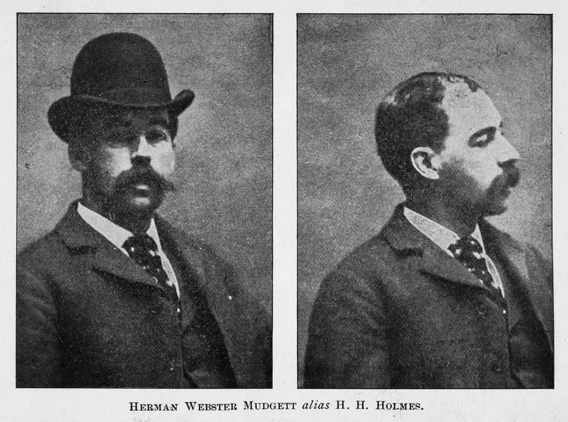 Retrato y perfil de H.H. Holmes