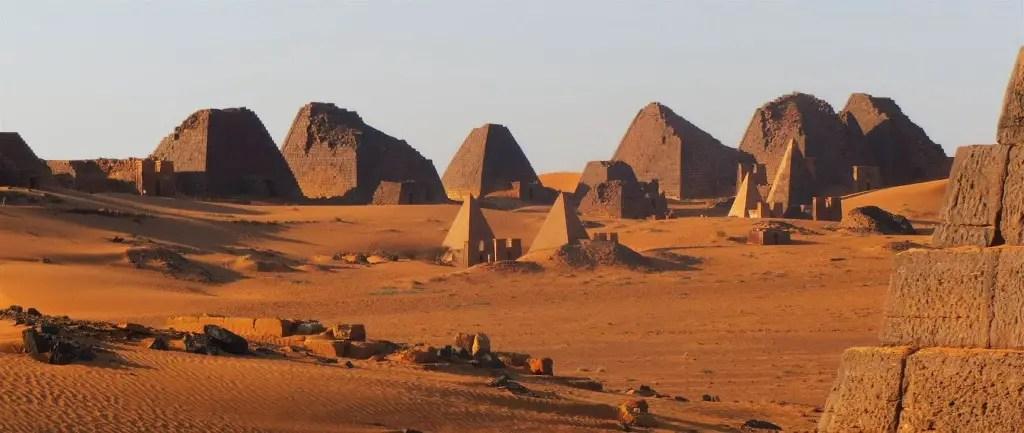 Pirámides de Meroe.