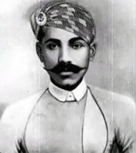 Retrato de Behram.