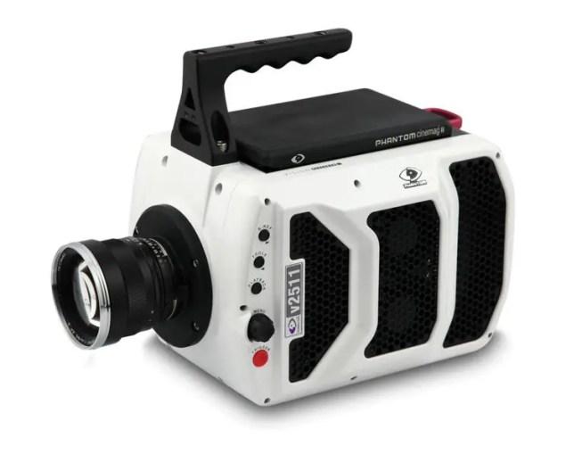 Fotografía de una cámara de ultra velocidad.