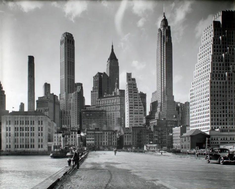 Fotografía de Manhattan.