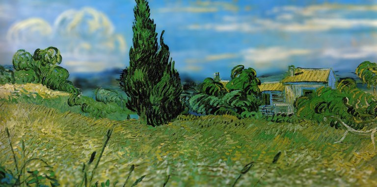 La maravillosa tridimensionalidad en las pinturas de Van Gogh