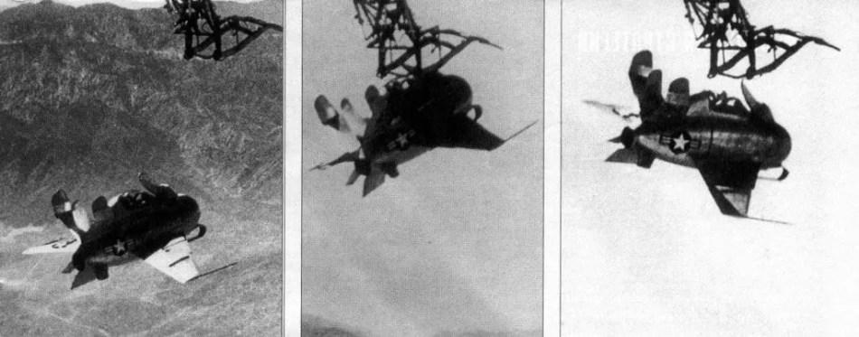 Fotografía del XF-85 Goblin.