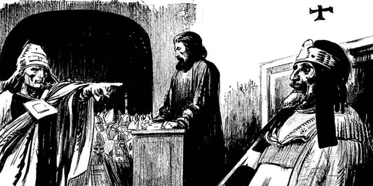 La particular condena a muerte al cadáver del papa Formoso en el siglo X