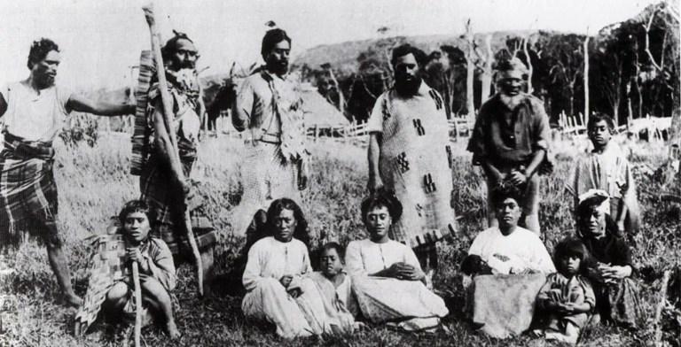 Los últimos miembros de la fatídica tribu de los moriori.