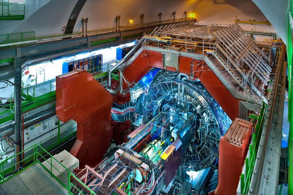 Detector ALICE del LHC.