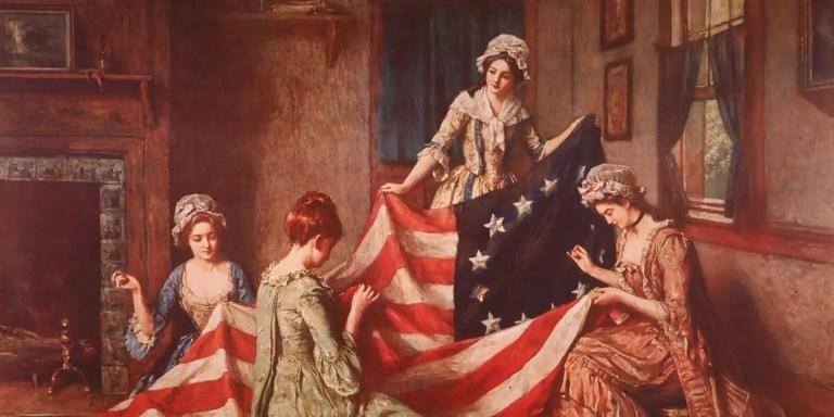 El curioso origen de la bandera de los Estados Unidos. ¿Un plagio?