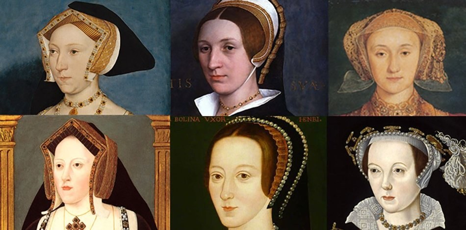 Las seis esposas de Enrrique VIII.
