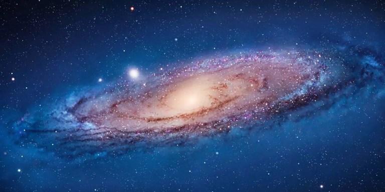 La galaxia Andrómeda.