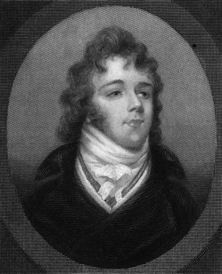 Retrato de Beau Brummell.