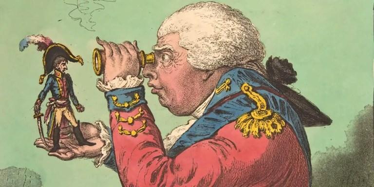 El Sr. Richebourg, el espía enano del siglo XVIII que se disfrazaba de bebé