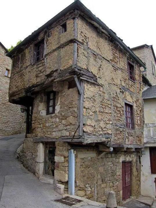 Fotografía de un hogar medieval