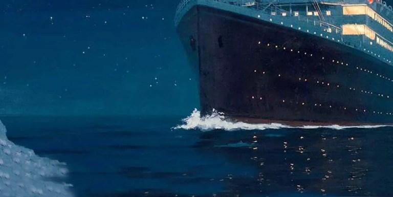 La impactante reconstrucción del hundimiento del Titanic en tiempo real