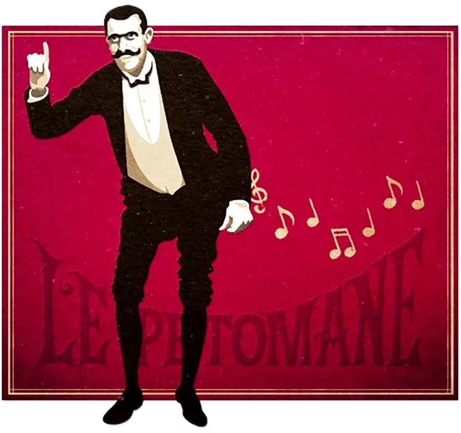 Le Pétomane, el artista de las flatulencias.